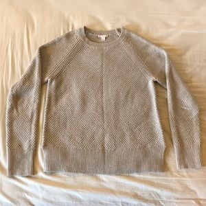 Grey Textured Sweater from Gap (Size M)